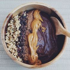 Chocolate Peanut Butter Protein Acai Bowl, a recipe on Food52