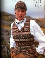 Vogue Knitting Fall 1994 Design by Lori Ihnen  I saved this issue through many moves. Always loved this vest!