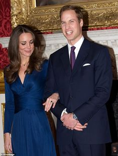 The couple officially announced their engagement in November 2010 following a great deal o...