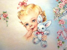 Vintage Wrapping Paper  Unisex Baby