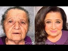The power of makeup Makeup Transformations by Goar Avetisyan Makeup For 50 Year Old, Makeup Over 50, Makeup For Older Women, Skin Makeup, Makeup Art, Makeup Tips, Beauty Makeup, Eyebrows, Eyeliner
