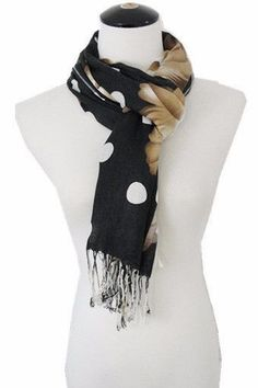 Pashmina Scarf AACH 504 Assorted Pack ( 12 pcs)