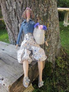 Tilda: la poupée Constance