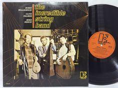 The Incredible String Band Self Titled Elektra A1/B1 EUK 254 LP #Vinyl Record