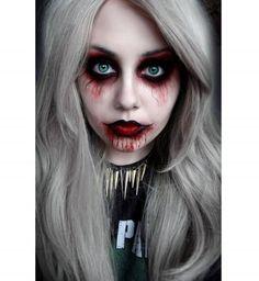 Maquillage d'Halloween : la poupée macabre