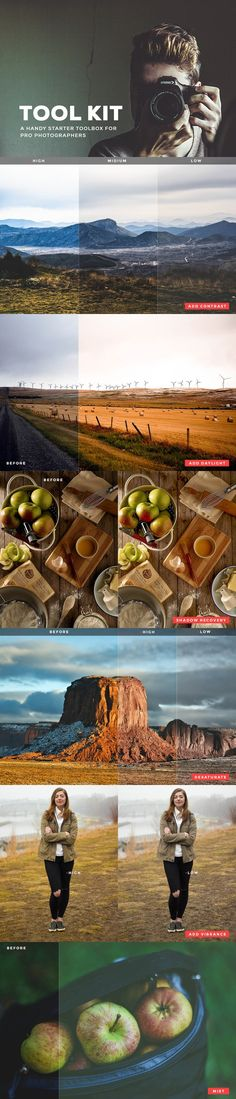 ToolKit - Lightroom Presets. Actions. $9.00