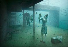 Wereld's eerste onderwater kunst galerie