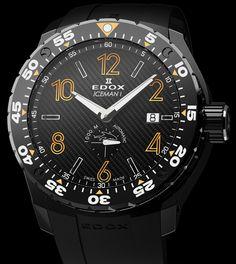 Edox | Class-1 Iceman Timepieces | Edelstahl PVD-beschichtet | Uhren-Datenbank watchtime.net