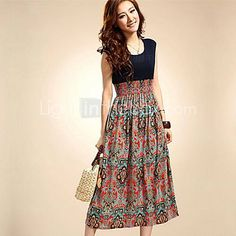 Women's Sleeveless Bohemian High Waist Skirt Dress http://www.lightinthebox.com/women-s-sleeveless-bohemian-high-waist-skirt-dress_p1462046.html?utm_medium=personal_affiliate&litb_from=personal_affiliate&aff_id=41139&utm_campaign=41139