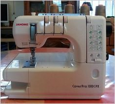 Janome CoverPro 1000CPX | Sewing Room Inspiration | Pinterest ...