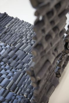 Felt wall panelling for acoustic insulation by Caty Palmer  http://cargocollective.com/catypalmer/About-Caty-Palmer