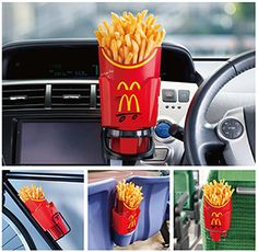 McDonald's French Fries Holder.
