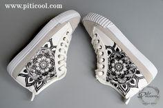 Tenisi pictati - Piticool ART Sneakers, Shoes, Art, Fashion, Tennis, Art Background, Moda, Slippers, Zapatos