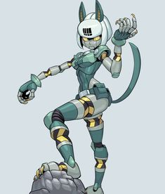 Skullgirls, Character Concept, Character Art, Character Design, Cartoon Sketches, Cartoon Art, Alita Battle Angel Manga, Robot Girl, Gamers Anime