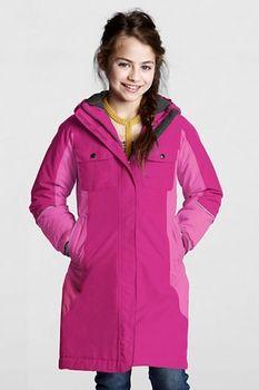 Little Girls' Squall Waterproof Coat - Bright Magenta, S