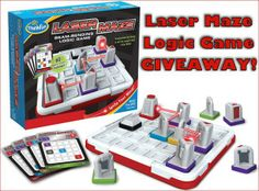 LASER MAZE LOGIC GAME GIVEAWAY! - ends 11/16/13
