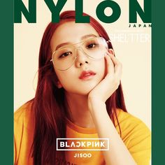 """[MAGAZINE] 170814 BLACKPINK X SHEL'TTER X NYLON JAPAN Special Collaboration Cover (Jisoo)  """