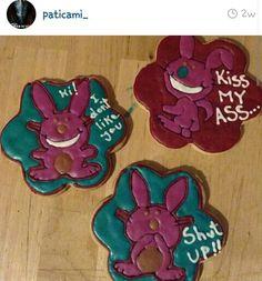 Happy bunny cookies