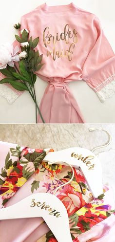 9b788ab246 8 Best Floral bridesmaid robes images