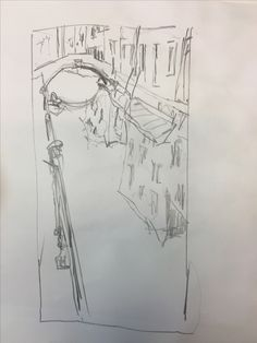 Skizze, Venedig