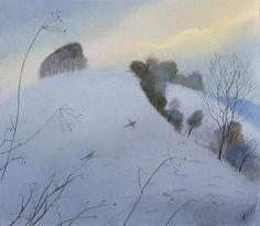 Nicholas Hely Hutchinson (b.1955) — Cold Morning - Win Green (640x557)