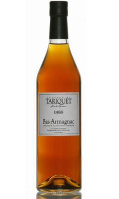 Château de Tariquet  Bas-Armagnacs  Les Bas-Armagnac Millésime 1988