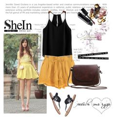 Shein 5 by aida-1999 on Polyvore featuring polyvore, fashion, style, Chanel and clothing