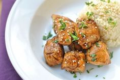 Thai Honey Peanut Chicken - freeze chicken in the sauce and so it marinades while it thaws. Grill.