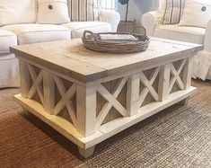 Farmhouse Style Furniture and Decor by SaltCreekFarmhouse on Etsy Wood Pallet Furniture, Diy Furniture Plans, Diy Furniture Projects, Upcycled Furniture, Furniture Decor, Barnwood Coffee Table, Painted Coffee Tables, Farmhouse Style Furniture, Shabby Chic Homes
