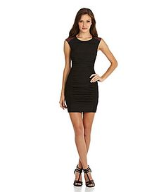 BCBGeneration SideSmocked Dress #Dillards
