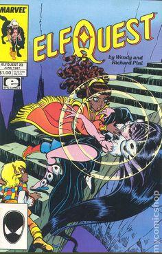 """ElfQuest"" # 23, Marvel edition"