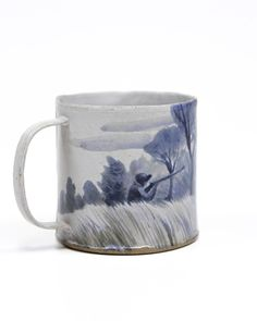 Ceramic Mugs, Ceramic Pottery, Ceramic Art, Kitchenware, Tableware, Ceramics Projects, Cute Mugs, Ceramic Painting, Coffee Cups