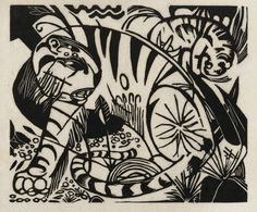 Franz Marc - (color) woodcuts