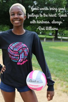 This Dig Pink® shirt will offer you daily reminders to stay strong, keep hope, and Dig Pink. Shop this and other breast cancer volleyball shirts today. All Volleyball, Volleyball Shirts, Volleyball Quotes, Coaching Volleyball, Consumer Reports, Sport Quotes, Parenting Quotes, Breast Cancer, Cool Words