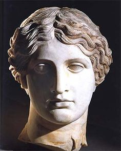 Marble Head of Adonis, legendary boy friend of TURANA*, Etruscan angel in charge of love and family affairs. Villa of the Papyri, Herculaneum. *TURANA Copyright All rights reserved Roman Sculpture, Art Sculpture, Ancient Rome, Ancient Art, Ancient Greek Sculpture, Greek Statues, Buddha Statues, Angel Statues, Roman History