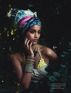 Model Alyssah Ali from Trinidad