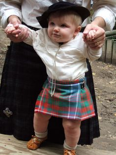 Baby & Toddler Kilts from Highland X Press (Need to research kilts for Brave!)