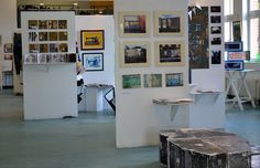 Exhibition - a nice way to display sketchbooks