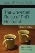 One of the funniest and most informative books on doing a PhD out there: Unwritten Rules of PhD Research