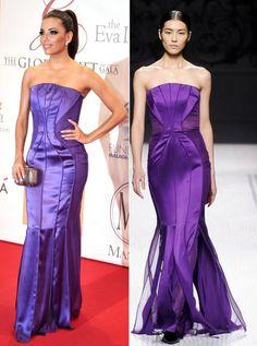 Eva Longoria: Global Gift Gala Purple Gown