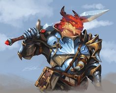 """Sam Santala on Twitter: """"Rook - Dragonborn Fighter #Dnd #commissionsopen """" / Twitter Fantasy Character Design, Character Concept, Character Inspiration, Character Art, Fantasy Races, Fantasy Rpg, Fantasy Artwork, Dungeons And Dragons Characters, Dnd Characters"""