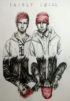 I really like this pen art work. But I really only see it for 21 Pilot fan art. I would like to try to do art like this.