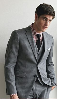 Six Tips for Wearing a Pinstripe Suit | Details