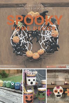 21 Spooky Halloween Crochet Patterns For Your Home