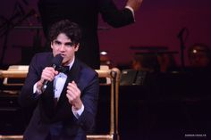Darren Criss performs during The New York Pops: Darren Criss and Betsy Wolfe In Concert at Carnegie Hall on March 11, 2016 in New York City.