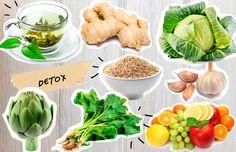En una época en la que todos hablan de detox como si fuera la nueva dieta, te presentamos otras maneras de desintoxicarte naturalmente mediante alimentos que puedes consumir todos los días  (y no en forma de jugo)