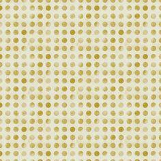 Gold Confetti - Leah Flores - Acrylic Glass Print