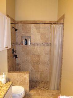 Photo gallery shower pan shower base tileable ada for Bathroom remodel keller tx