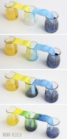 Mamà recicla: Vasos comunicants (II) / Vasos comunicantes (II)