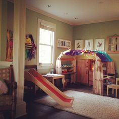 Getting Organized.  #waldorf #playroom by katstan, via Flickr